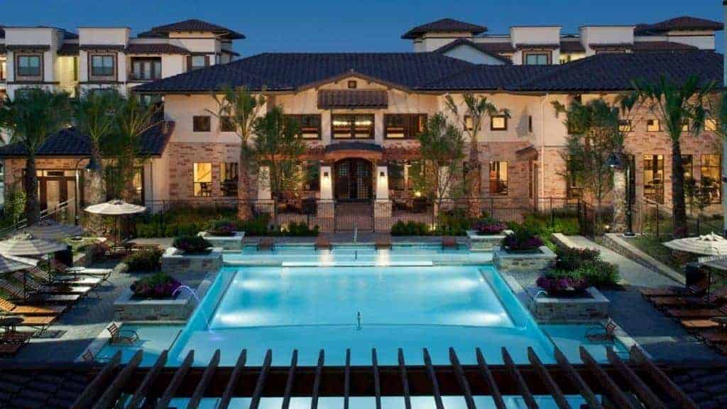 apartment water feature management services